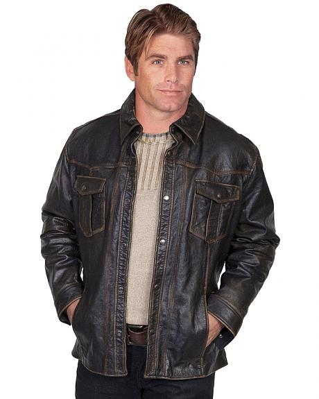 Scully Lamb Leather Jacket