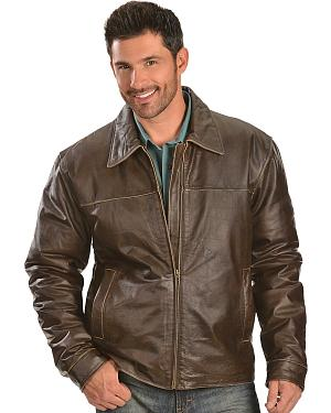 Red Ranch Leather Jacket