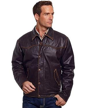 Cripple Creek Vintage Western Leather Jacket