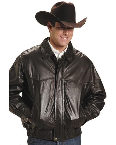 Roper Lamb Nappa Bomber Jacket Big and Tall Western & Country 02-097-0524-0716 BR