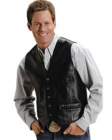 Roper Lamb Leather Vest
