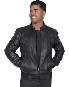 Scully Men's Black Lamb Jacket