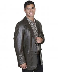 Scully Contemporary Lamb Blazer - Big and Tall