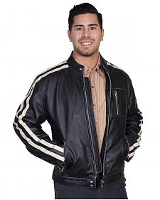 Scully Sanded Calf Racing Jacket