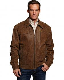 Cripple Creek Hand-sanded & Distressed Leather Jacket