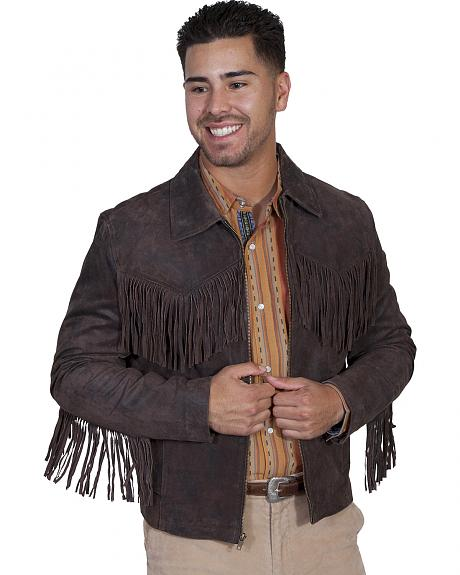 Scully Leatherwear Men's Frontier Leather Jacket