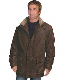 Scully Leatherwear Double Collar Leather Rancher Coat