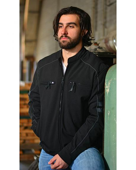 Interstate Leather Men's Maddox Jacket - 2XL and 3XL