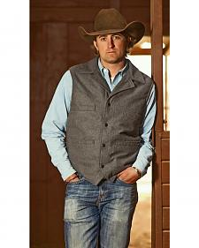 STS Ranchwear Men's Wool Ace Vest
