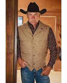 STS Ranchwear Men's Wool Ace Vest - 2XL-3XL