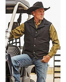 STS Ranchwear Men's Wool Ace Vest - 4XL