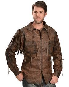 Kobler Leather Men's Chirikahua Leather Shirt