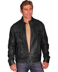 Scully Leatherwear Men's Black Leather Jacket