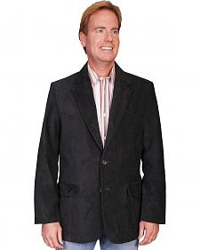 Scully Boar Suede Black Blazer