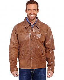 Cripple Creek Men's Hand Sanded Snap Front Jacket