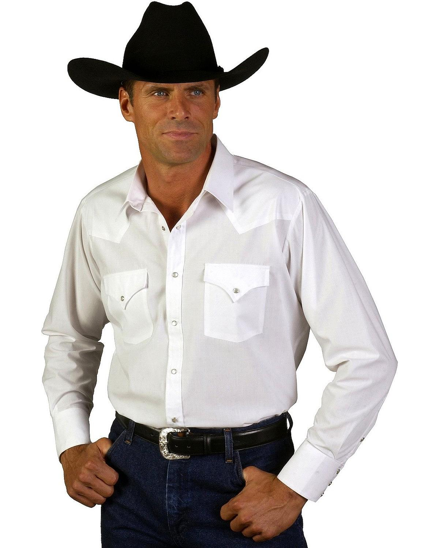 Ely cattleman men 39 s classic western shirt tall big tall for Men s big tall shirts