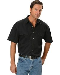 Panhandle Slim Solid Twill Shirt - Big at Sheplers