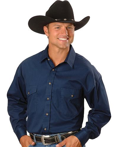 Panhandle Slim Twill Western Shirt Tall Western & Country 36T8211-91