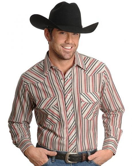 Wrangler Assorted Long Sleeve Western Shirt - Big