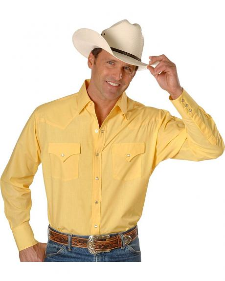 Ely Fashion Colors Classic Western Shirt - Big, Tall, Big/Tall