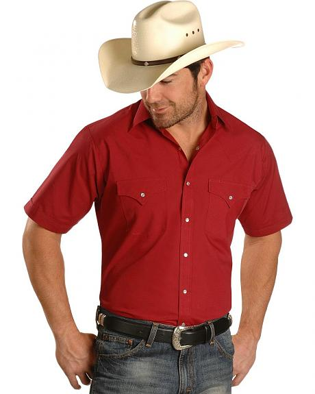 Ely Fashion Classic Western Shirt - Tall