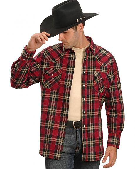 Ely Brawney Flannel Shirts- Tall