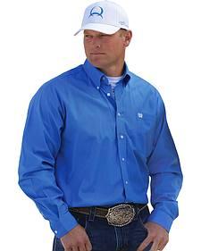 Cinch Solid Blue Shirt - 3XL
