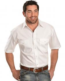 Exclusive Gibson Trading Co. Solid White Twill Shirt - Big & Tall