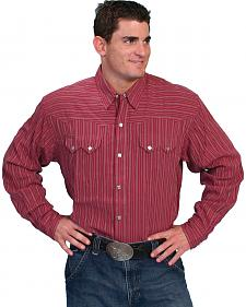 Scully Striped Western Shirt - Big & Tall