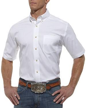 Ariat Pro Series Solid Poplin Shirt - Big and Tall