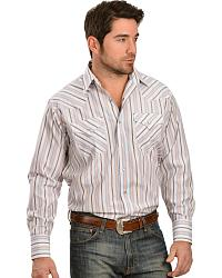 Men's Striped Long Sleeve Shirts