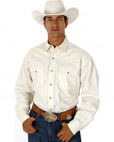 Roper Twill Western Shirt - Big and Tall