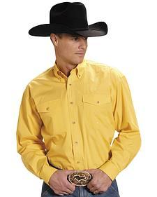 Roper Poplin Western Shirt - Big & Tall