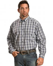 Ariat Men's Plaid Mountain Nomad Justin Shirt - Big & Tall