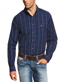 Ariat Men's Peacoat Navy Brennan Shirt - Big and Tall