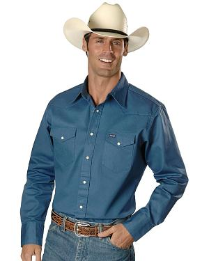 Wrangler Twill Work Shirt