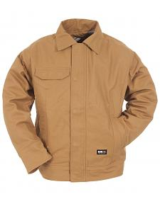 Berne Duck Flame Resistant Bomber Jacket - 3XL and 4XL