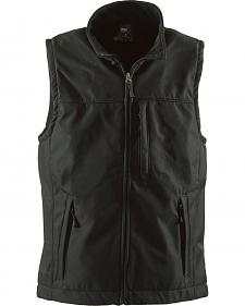 Berne Black Wildhorn Softshell Vest - 3XL and 4XL