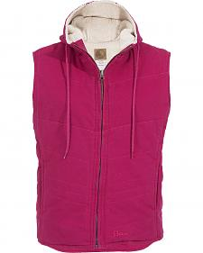 Berne Women's Washed Hooded Vest - Big and Tall