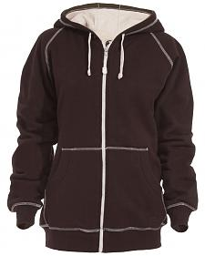 Berne Women's Zip-Front Hooded Sweatshirt