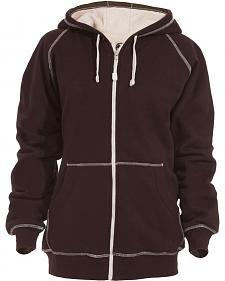 Berne Women's Zip-Front Hooded Sweatshirt - 3XL and 4XL