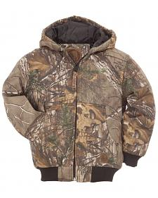 Berne Boys' Youth Realtree Camo Spike Jacket