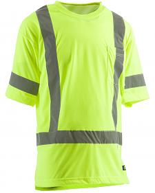 Berne Hi-Visibility Short Sleeve Pocket T-Shirt - Big 3XL and 4XL