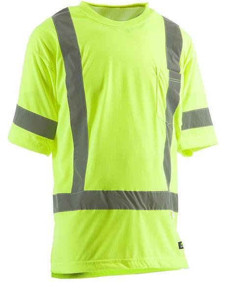 Berne Hi-Visibility Short Sleeve Pocket T-Shirt - Big 3XL and 4XL