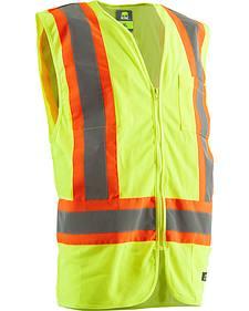Berne Hi-Visibility Multi-Color Vest - 3XL and 4XL