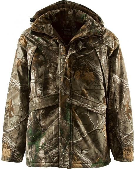 Berne Realtree Camo Blizzard Quilt Lined Coat - 3XL and 4XL