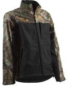 Berne Lodge Camo Softshell Jacket - Tall Sizes