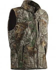 Berne Weekender Realtree Camo Softshell Vest - 3XL and 4XL