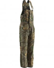 Berne Realtree Camo Coldfront Bib Overalls - Short Sizes