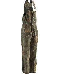 Berne Realtree Camo Coldfront Bib Overalls - Short Sizes